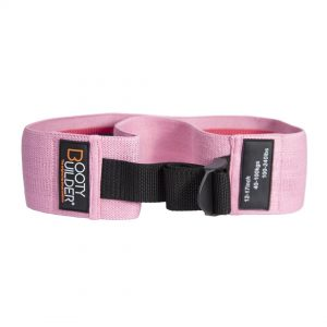 Booty Builder Adjustable Loop Band – Rosa